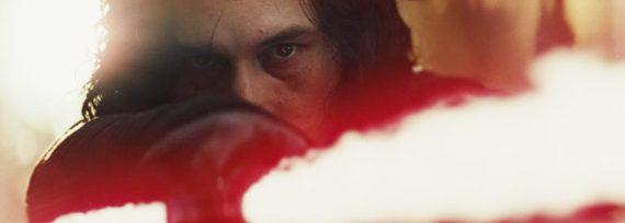 Adam Driver als Kylo Ren in Star Wars: The Last Jedi