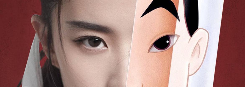 Liu Fei als Mulan.