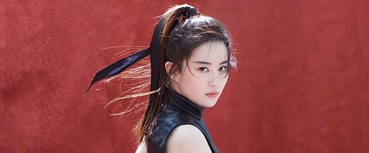 Die chinesische Schauspielerin Liu Fei in den ersten offiziellen Bildern von Disney als Mulan.