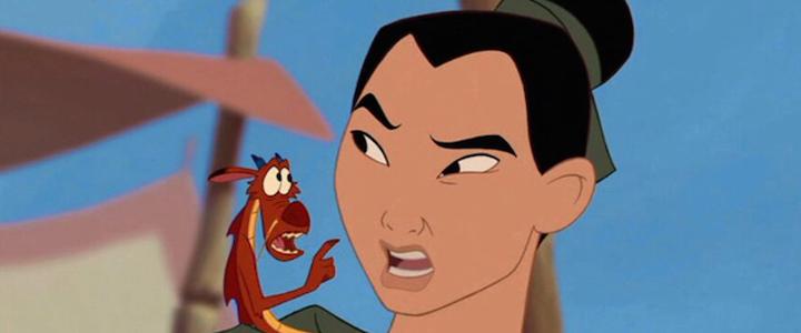 Mulan aus dem gleichnamigen Disney-Film von 1998.