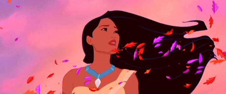 """Eine Szene aus Disneys """"Pocahontas"""" aus dem Jahr 1995."""