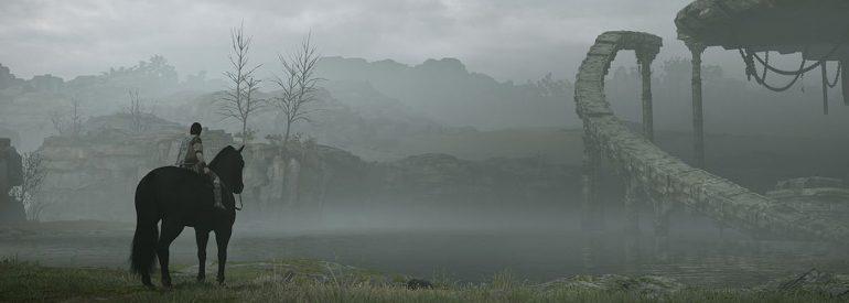 Einsamkeit ist ein großes Stilmittel im Spiel Shadow of the Colossus.