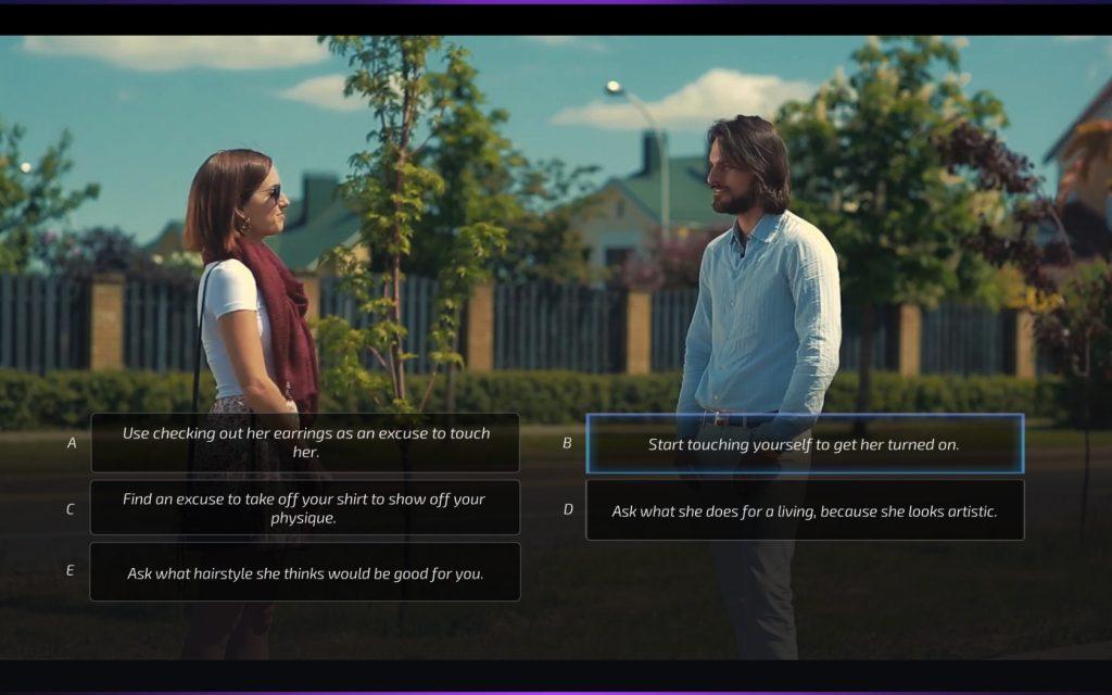 Angenommen, ein Unbekannter spricht euch auf der Straße an - würdet ihr euch bei irgendeiner dieser Optionen wohlfühlen?