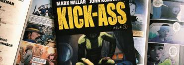 Das Cover von Ausgabe 1 von Mark Millars Kick Ass Neuauflage.