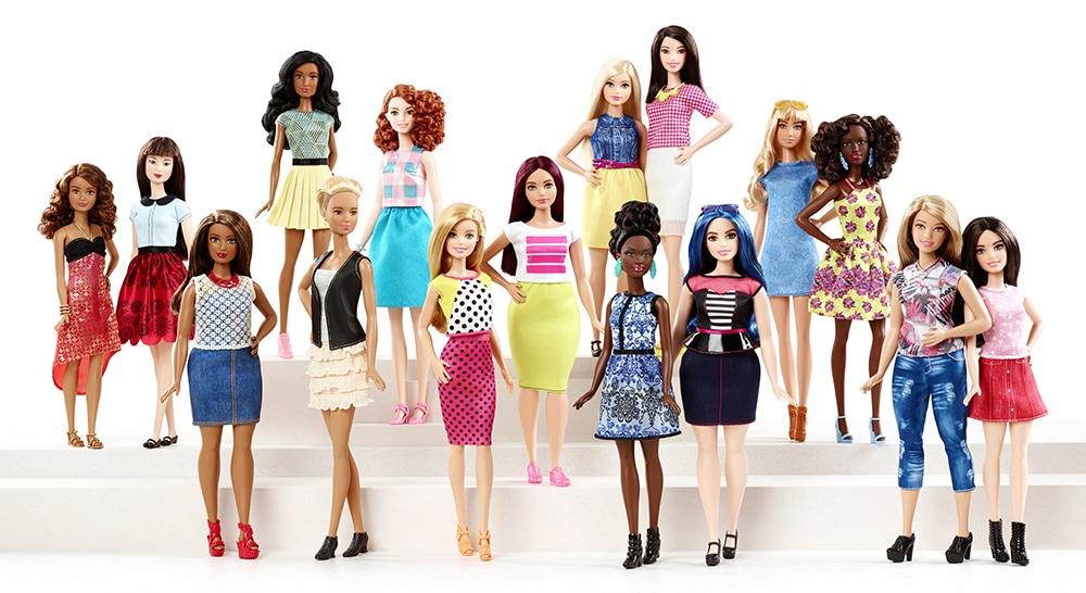 Die Barbie Fashionistas sind groß, klein, schlank, kurvig und haben ihren eigenen Stil.