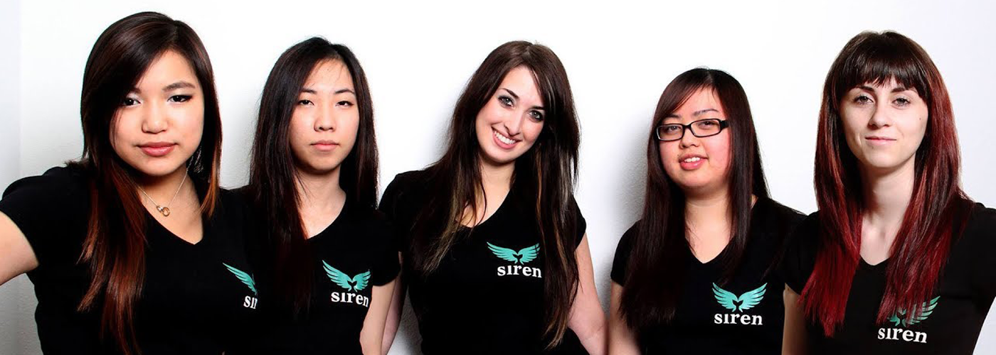 "Das erste all female Overwatch-eSports-Team ""Team Siren"""